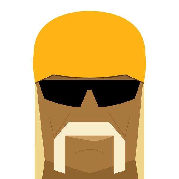 Hulk Hogan Illustration by Jag Nagra